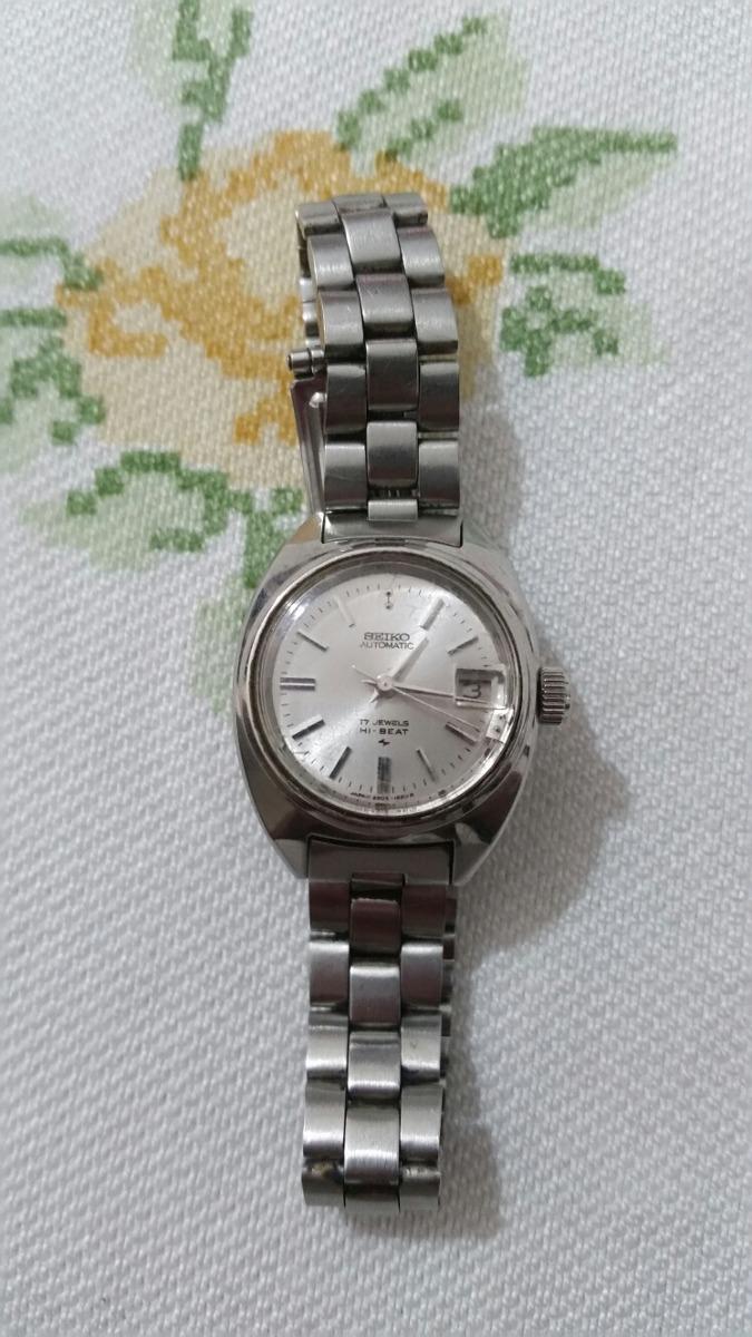 d5e73412cc7 relógio seiko feminino automático. Carregando zoom.