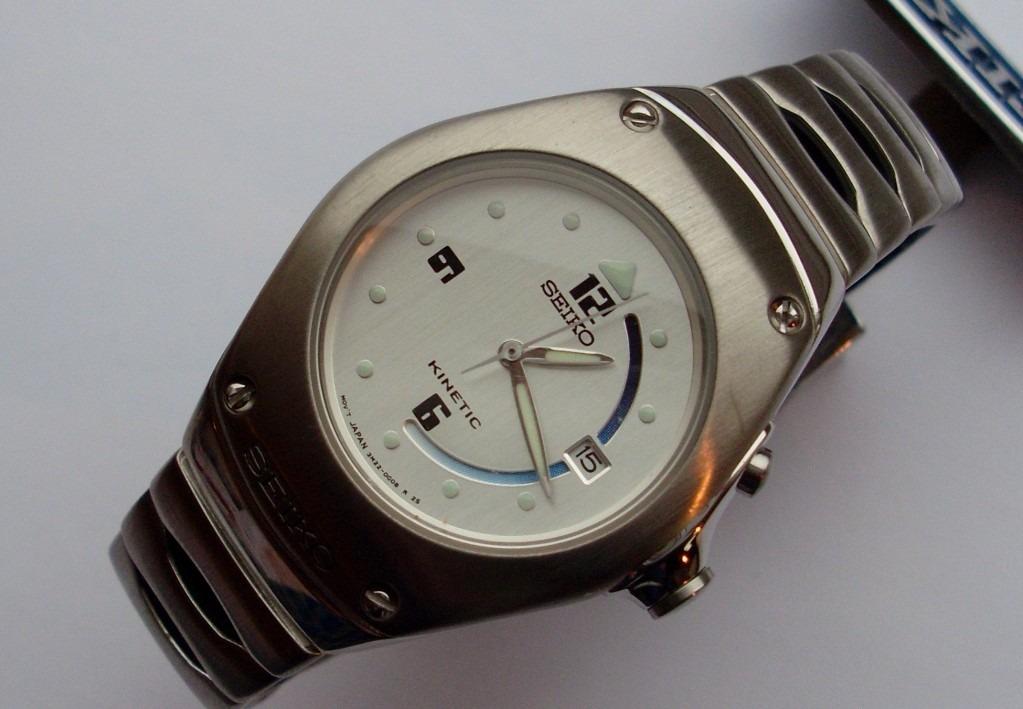 67bcc314468 Relógio Seiko Feminino Kinetic A Prova Da Água