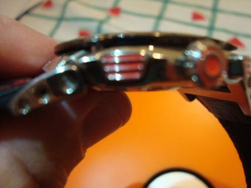 relógio seiko formula 1 v-safira +pulseira couro raro f grat