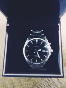 Relógio Seiko Kinetic 100m -modelo: Ska565p1 -2 Anos De Uso