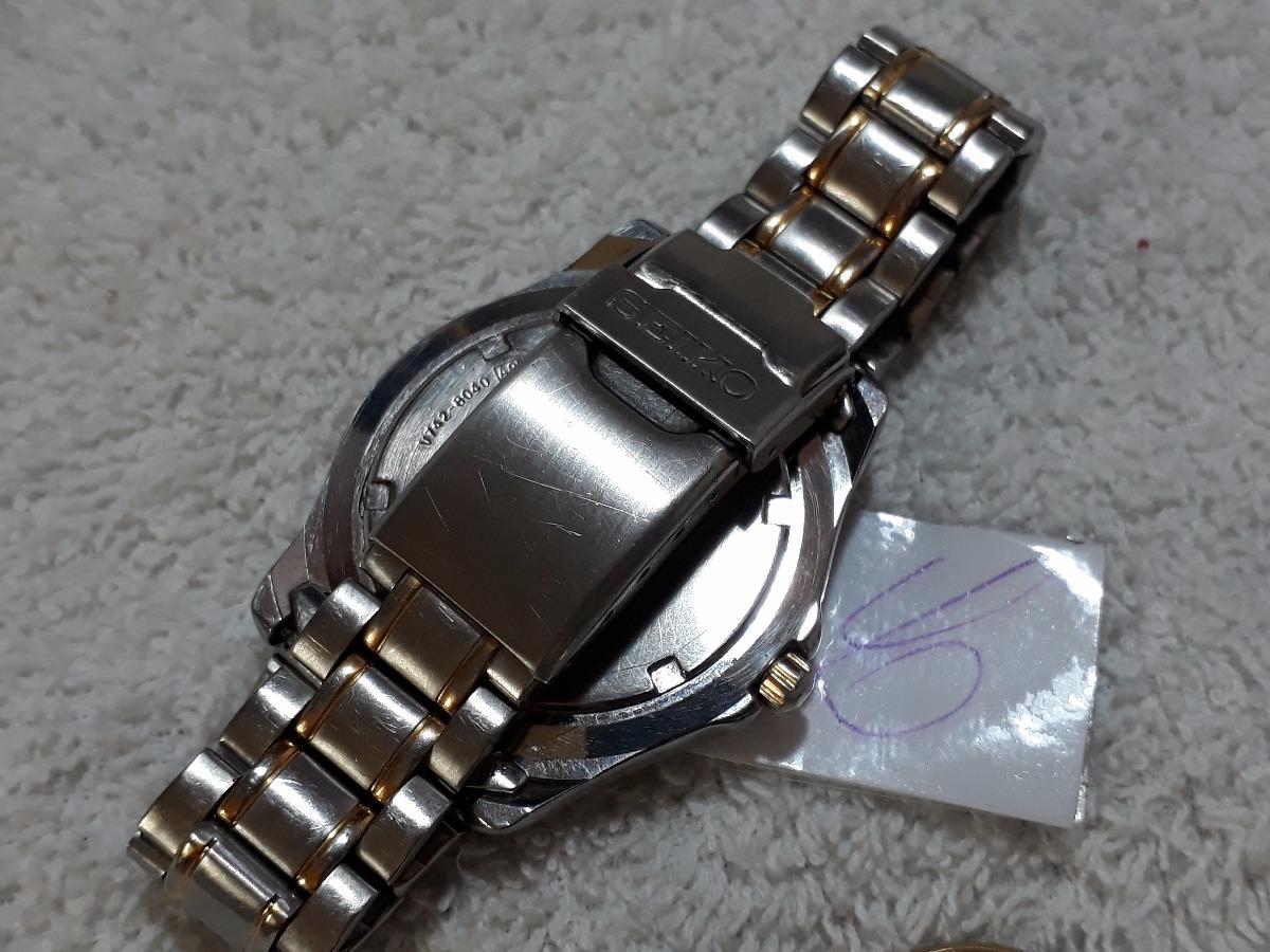 bdd84d7446d relógio seiko masculino