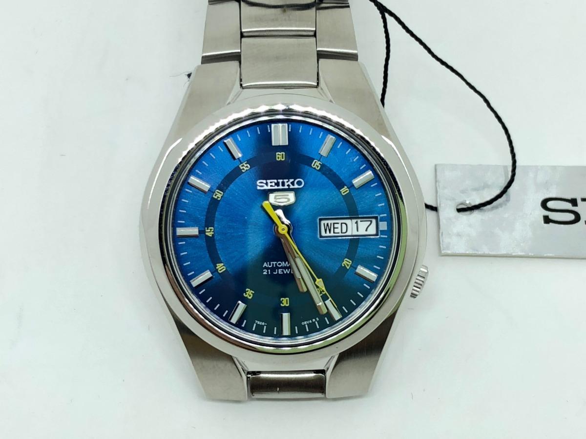 size 40 9b2b6 1fb46 Relógio Seiko Masculino Automático 21 Jewels Snk615k1
