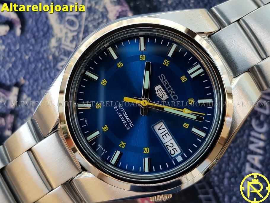 best cheap 33eb9 fa03c Relógio Seiko Masculino Automático Clássico Snk615k1