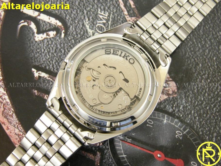 12b30c650e6 relógio seiko masculino automático clássico snkl17k1. Carregando zoom.