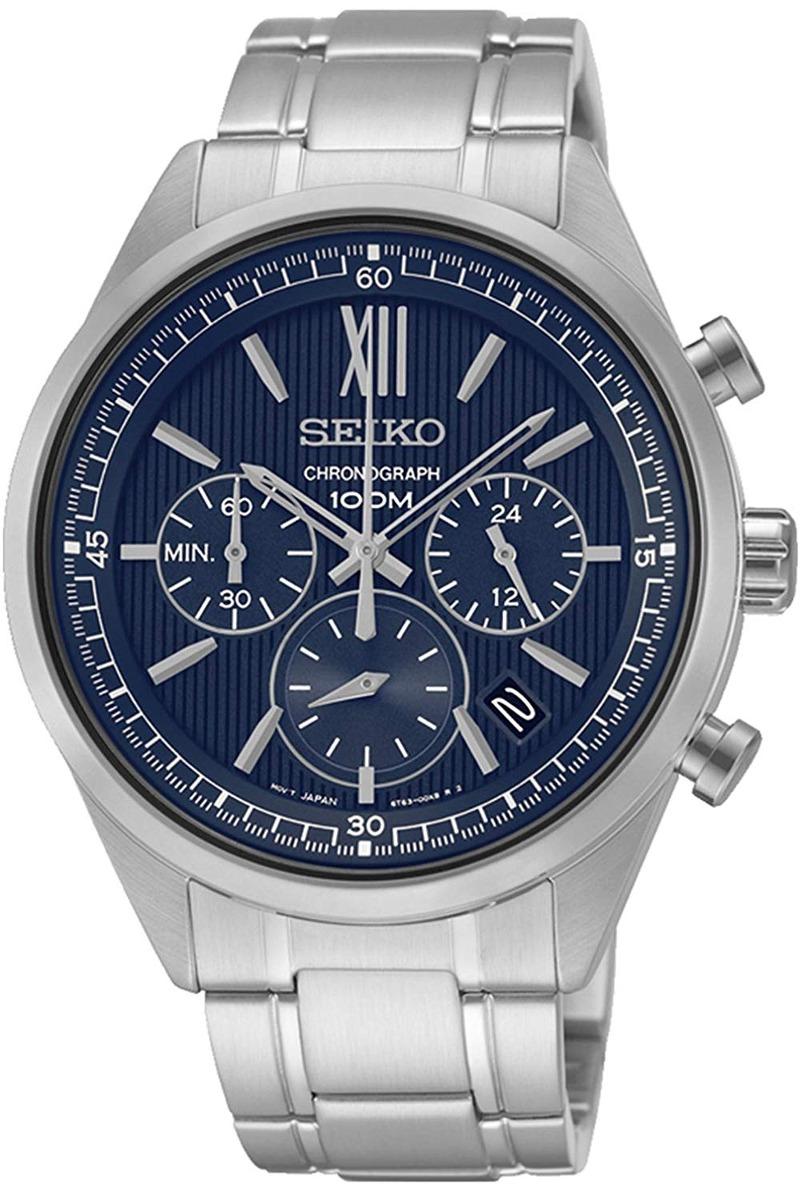 a1f0e6e7c79 Relógio Seiko Neo Sport Ssb155 P1 Silver W - 10564 - R  1.447