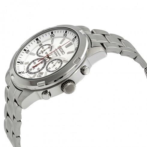 810e656ac8c Relógio Seiko Neo Sports Cronógrafo De Prata-sks601p1 - R  1.200
