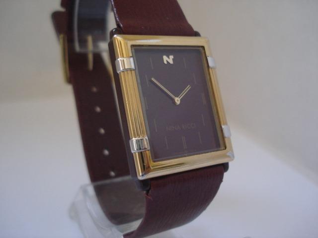 83ec2fe0224a2 Relógio Seiko Nina Ricci Extra Fino Plaquê Ouro   Cartier - R  1.199,00 em Mercado  Livre