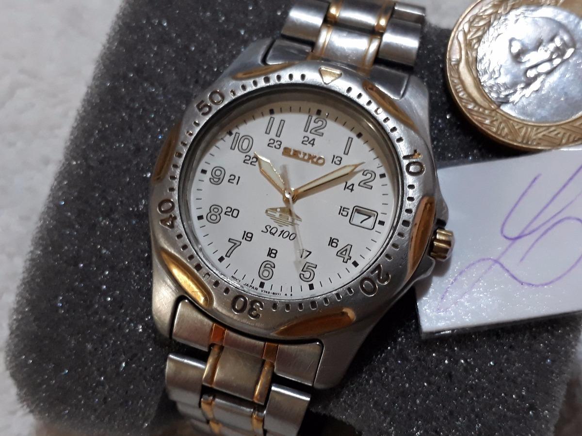 de61952d869 Relógio Seiko S Q 100