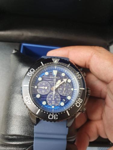 relogio seiko save the ocean edição especial diver