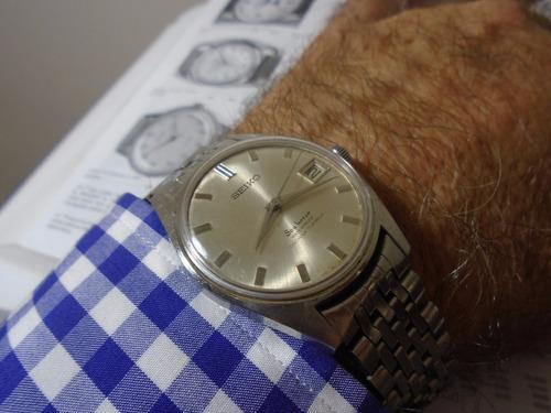 relógio seiko sea horse 6602 8020 antigo corda manual raro