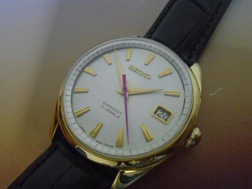 relógio seiko sea lion cal 6602 corda manual anos  70 raro