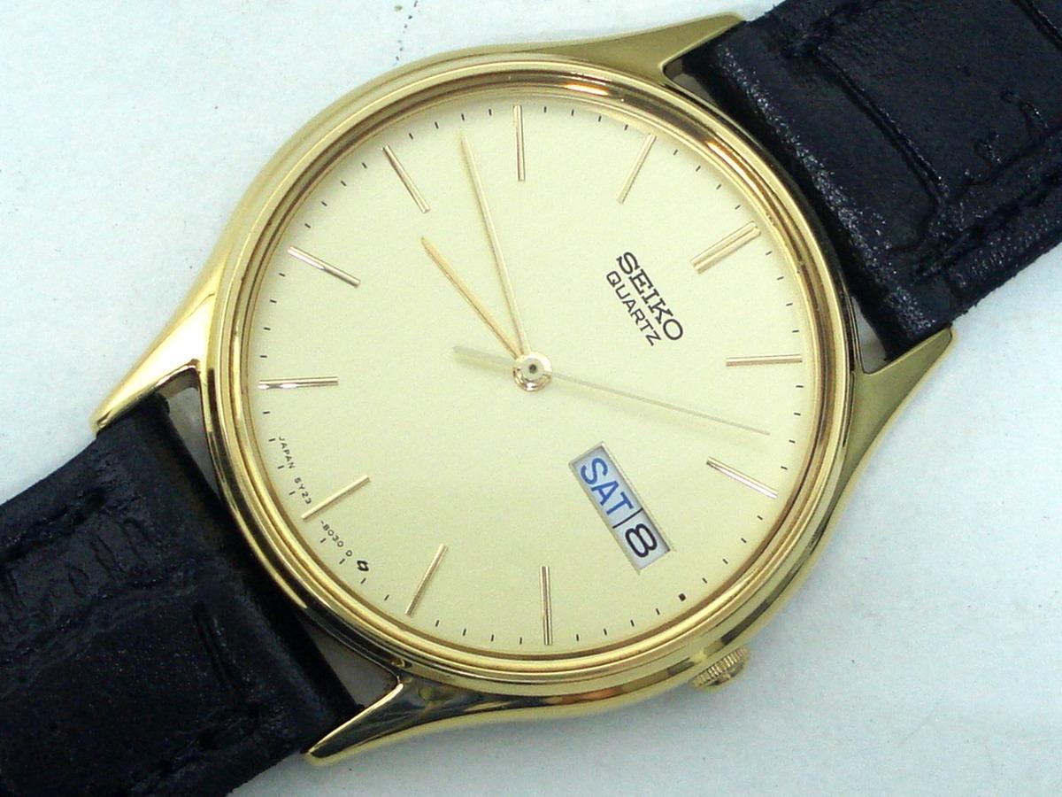 f69db96f3a7 Relógio Seiko Social 5y23 Dourado Sem Uso - Lorus Aka Alba - R  199 ...