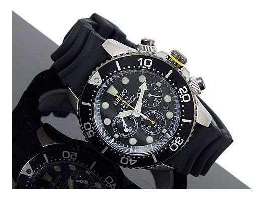 detailed look ec640 52090 Relógio Seiko Solar Diver 200m Ssc021p1 Ssc021