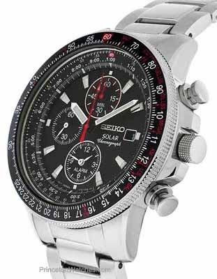 dc00b0f9999 Relógio Seiko Ssc007 Solar Sport Cronografo Alarme - R  2.289