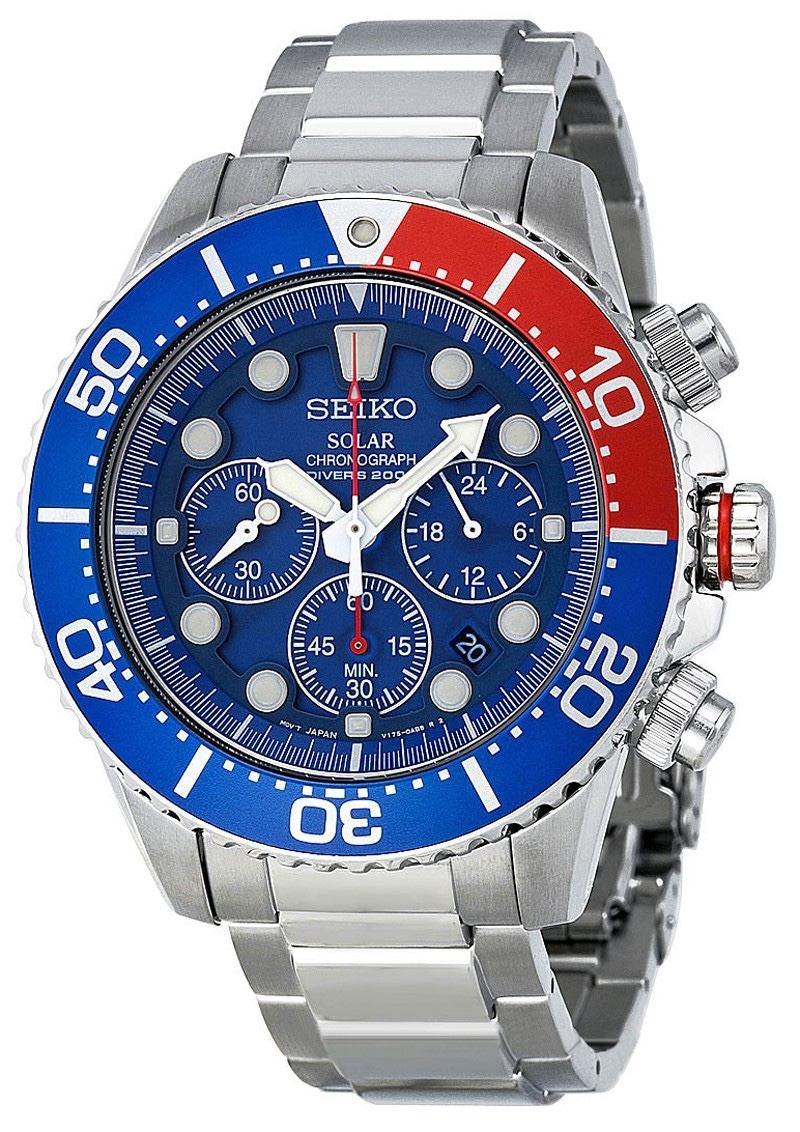 013360d92d7 relógio seiko ssc019 solar dive cronografo original. Carregando zoom.