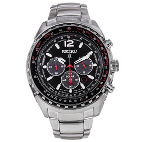 Relógio Seiko Ssc261p1 Solar Prospex Aviator Japan