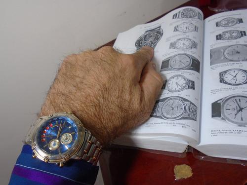 relógio seiko yatch timer cronógrafo temporizador  6m37 6000
