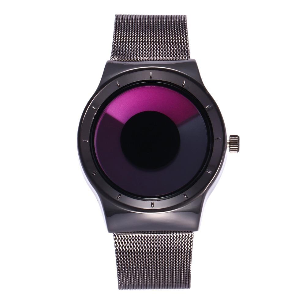 89518f324a9 Relógio sem ponteiro analógico rosa moderno binário shengke carregando zoom  jpg 1000x1000 Pulso relogios sem ponteiro