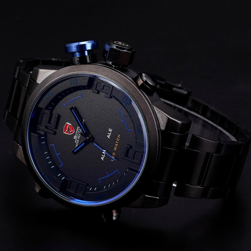 relógio shark masculino