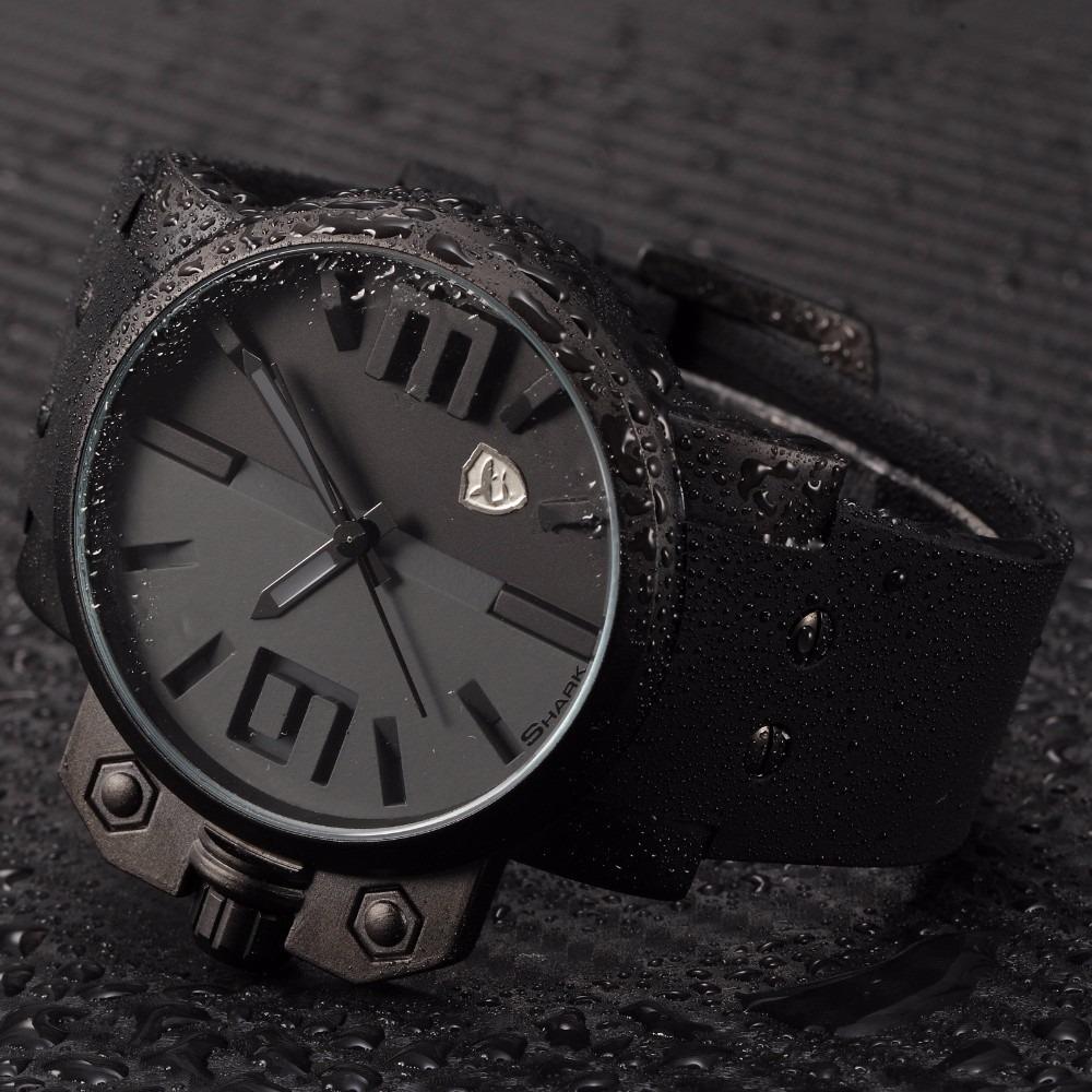 acf2951717f relógio shark preto original a prova d água. Carregando zoom.