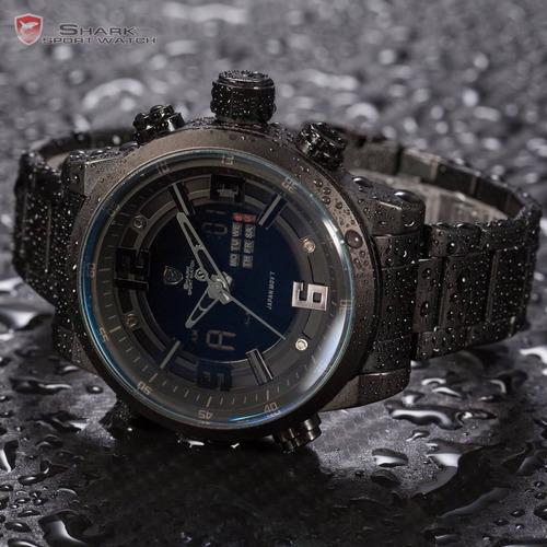 relógio shark sport watch ds024s - original