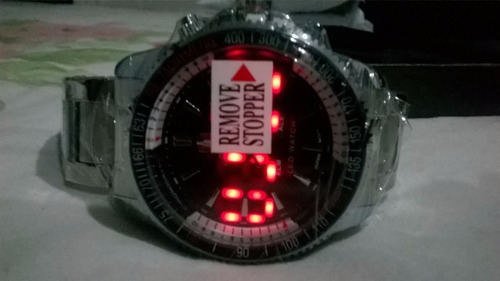 relogio shark unisex led