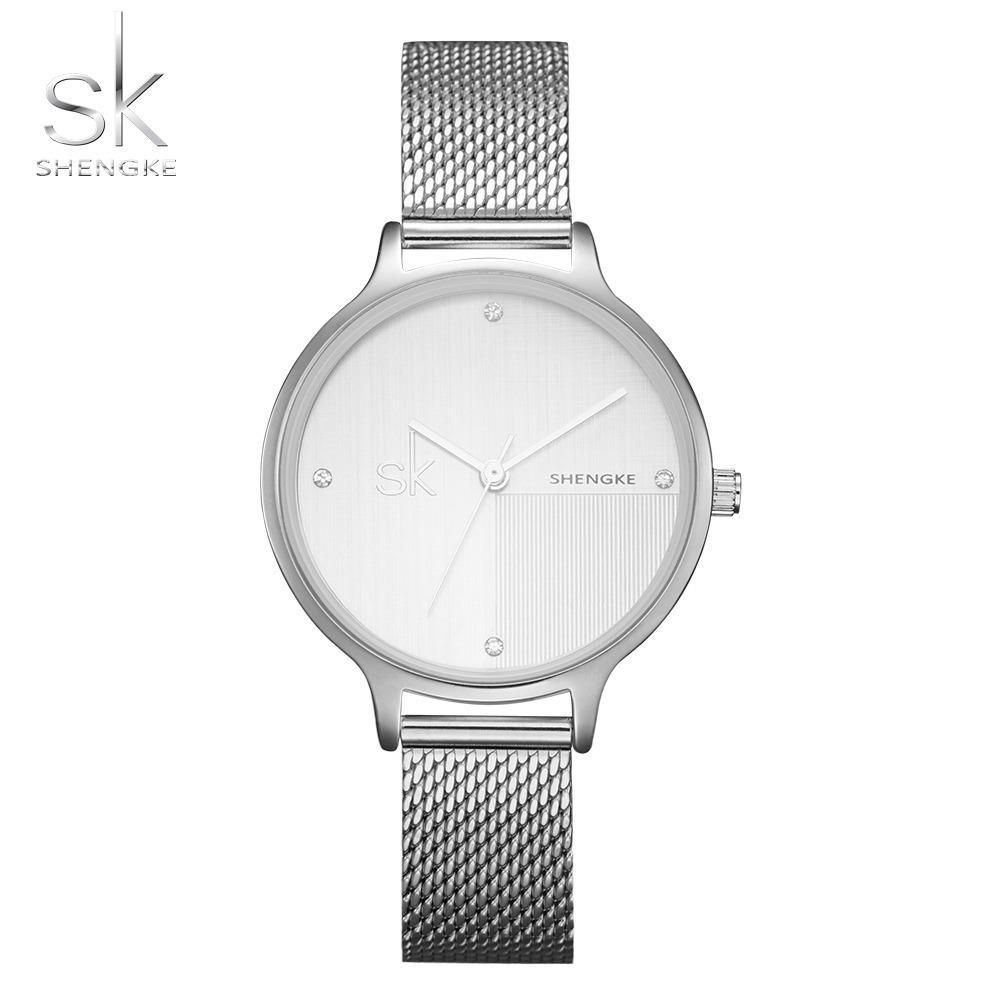 4dbc69f16aa relógio shengke sk feminino luxo cristal -oferta imperdível. Carregando  zoom.