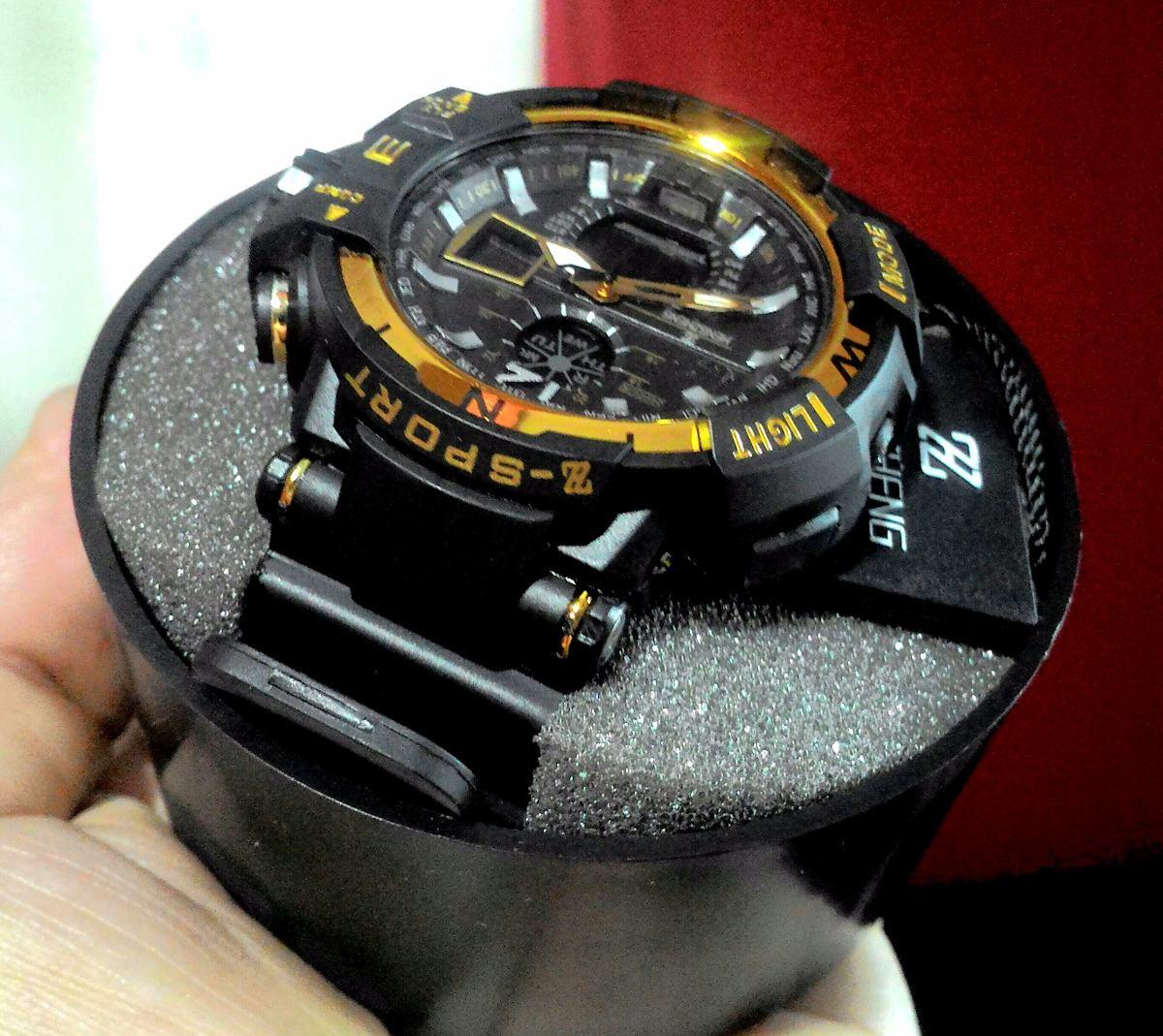 4c4cbb5815d relógio shock masculino pulso z sport 490 digital analogico. Carregando  zoom.