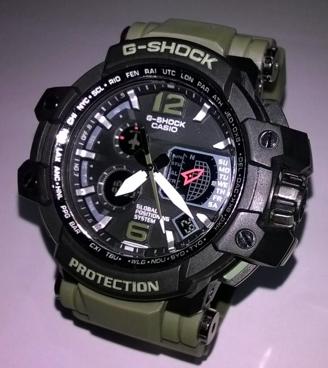9a27f407d72 relógio shock protection master. Carregando zoom.