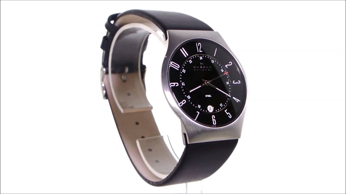 Relógio Skagen 233xxlslb - R  799,00 em Mercado Livre 15d0bd6e84