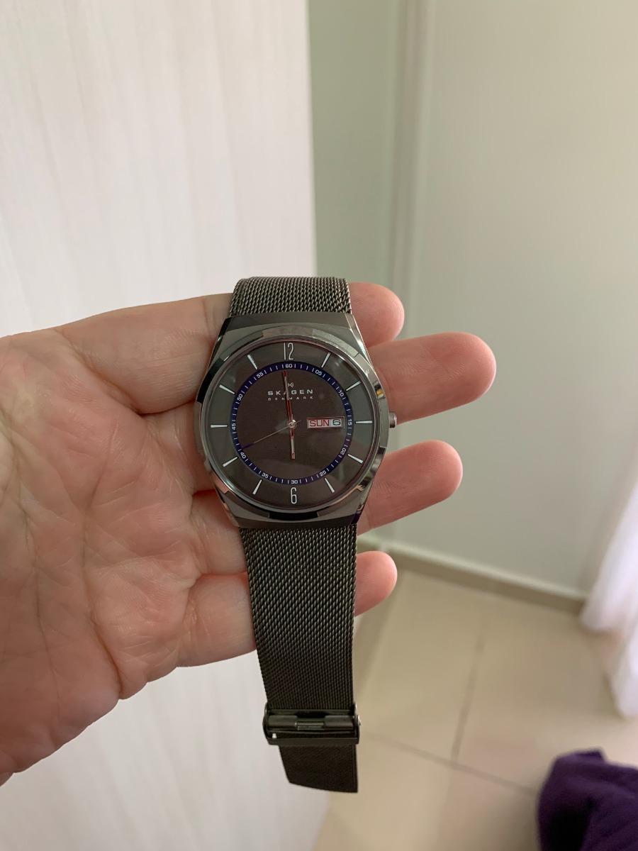 ce1d01d083a0e relógio skagen denmark skw6078 2451407 original usado. Carregando zoom.