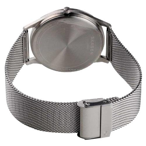 relógio skagen masculino slim analógico skw6334/1pn