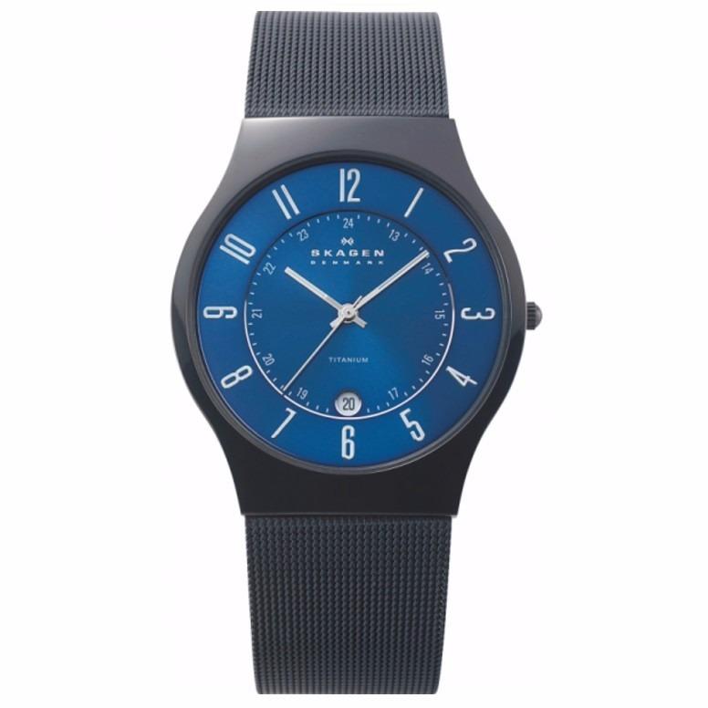 b23cbdb137ccb Relógio Skagen Masculino T233xltmn 4pn Preto - Nota Fiscal - R  798 ...