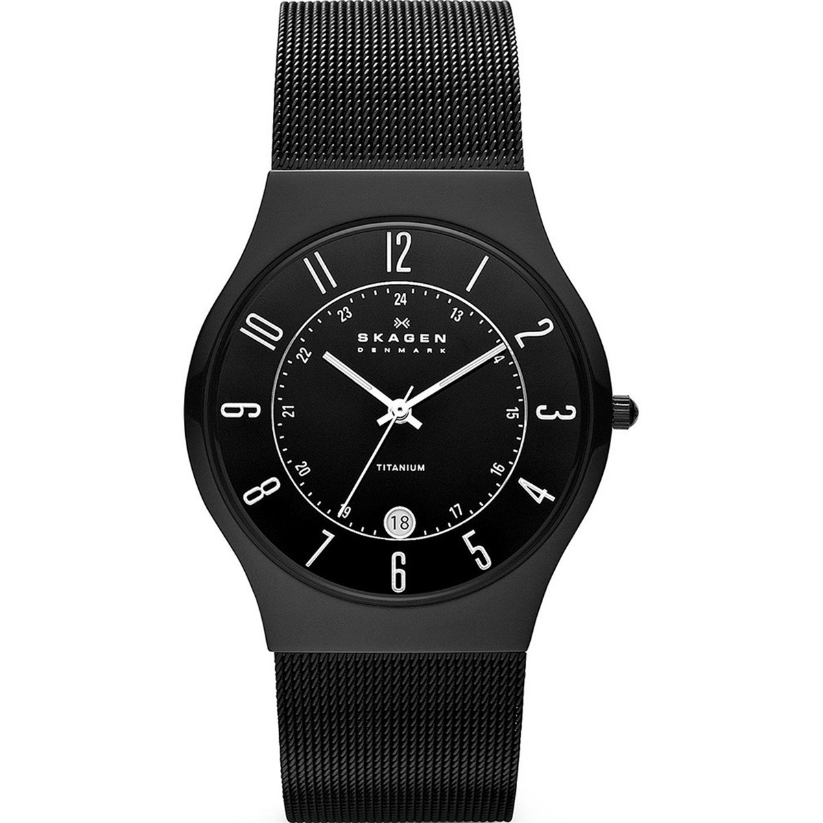 Relógio Skagen Masculino Titanium Analógico 233xltmb - R  999,99 em ... 39132eb0bb