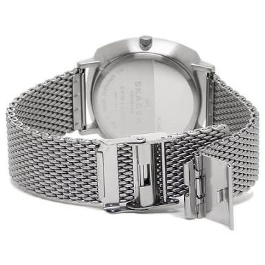de1a9cd1bafa3 Relógio Skagen Rungsted Heavy Gauge Steel Mesh Watch Skw6255 - R ...