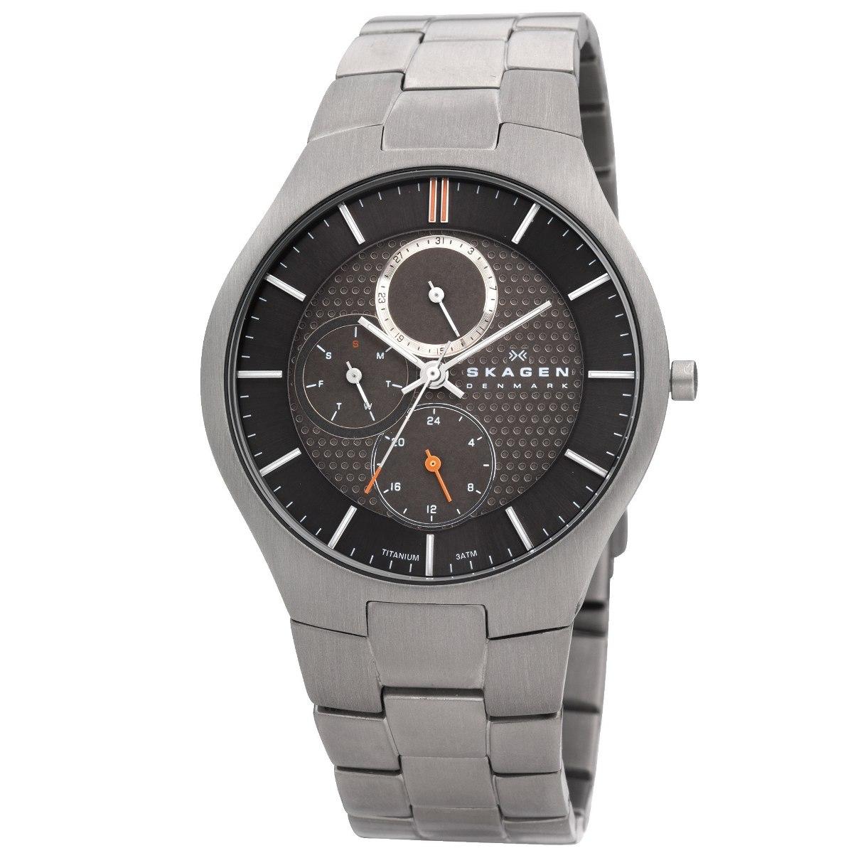 Relógio Skagen Super Titanium 806xltxm - Lançamento - R  1.399,00 em ... e2275c06f3