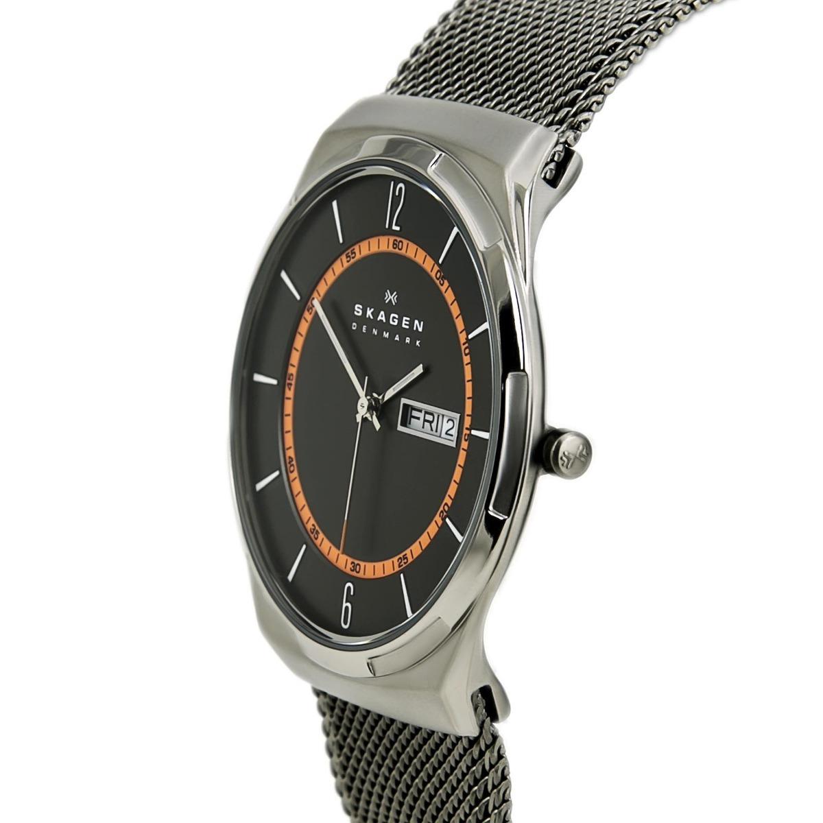Relógio Skagen Titanium Slim Skw6007 - R  999,00 em Mercado Livre a252be514c