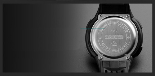 relógio skmei 1219 fashion digital uso militar prova d'água