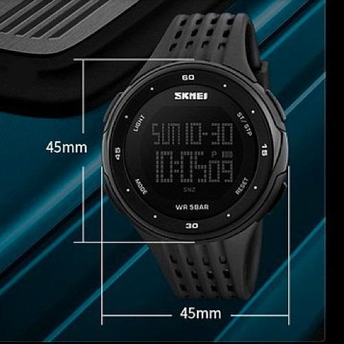 2162b80e6b7 Relógio Skmei 1219 Led Digital Esportivo Masculino + Brinde - R  49 ...