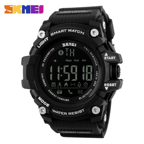 dcd4a57fa6d Relogio Skmei 1227 Smartwatch Km Calorias Bluetooth + Brinde - R  120
