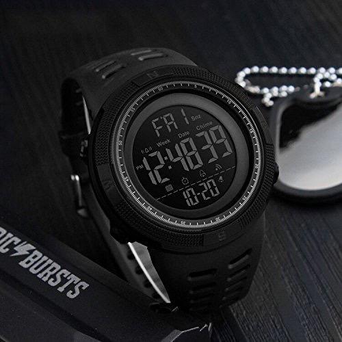 0d7abcc80b4 Relogio Skmei 1250 Digital Esportivo Inteligente Bluetooth - R  129 ...