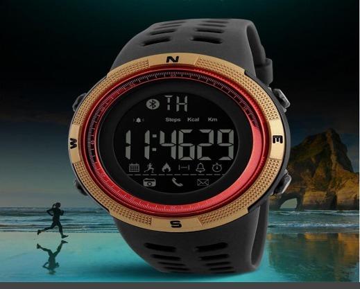 2d2ca52b5d8 Relógio Skmei 1250 Masculino Bluetooth Smartwatch Original - R  120 ...