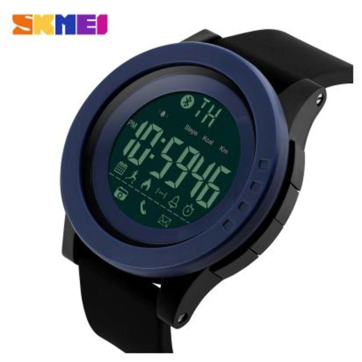 922a67ed6ab relogio skmei 1255 smartwatch bluetooth pedometro. Carregando zoom.