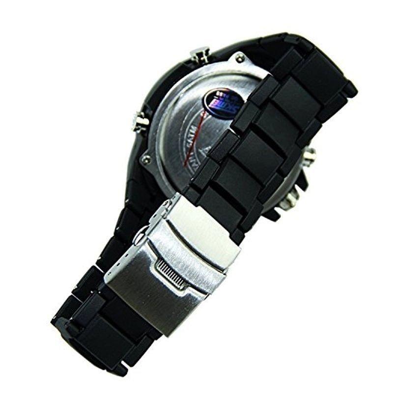 705a82c8615 relógio skmei anadigi 1016 preto e vermelho. Carregando zoom.