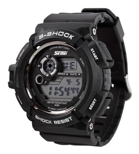 relógio skmei esportivo masculino quartzo s-shock digital