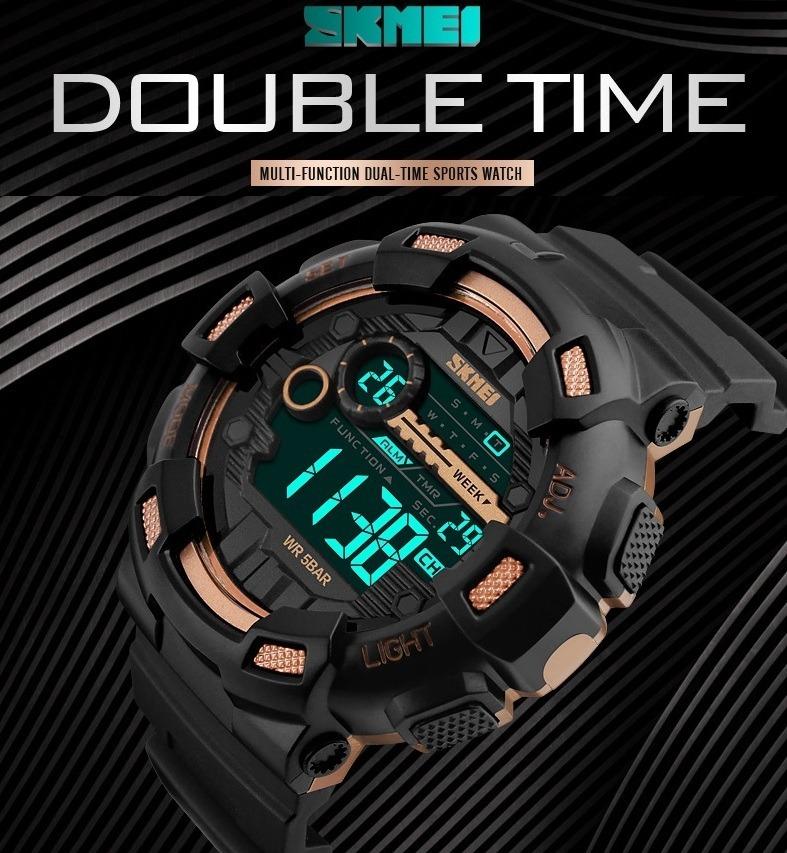 5dab3e4be0fcc Relógio Skmei Kit Leve 4 Pague 3 Masculino Gratis Quadrado - R  229 ...