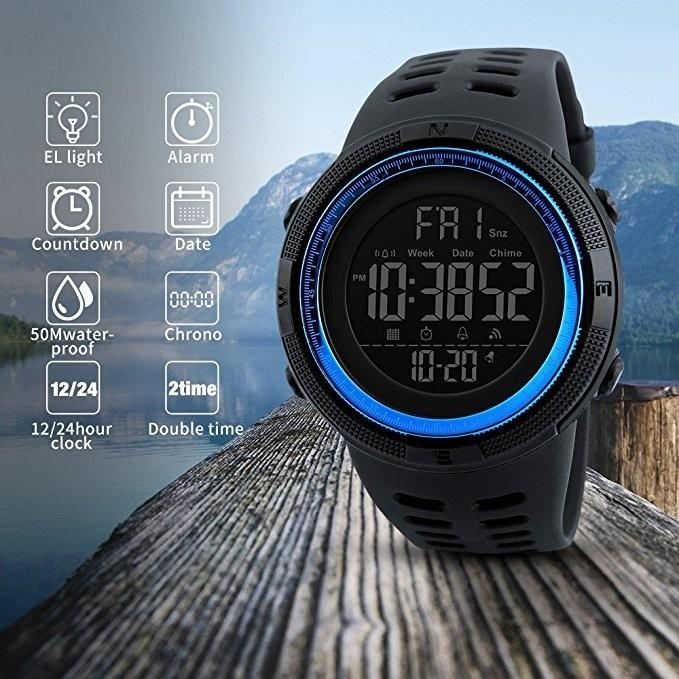 ab9870d2346 Relógio Skmei Masculino 1251 A Prova D água Esportivo Barato - R  57 ...