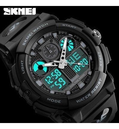 relógio skmei masculino1270 original esporte à prova d'água