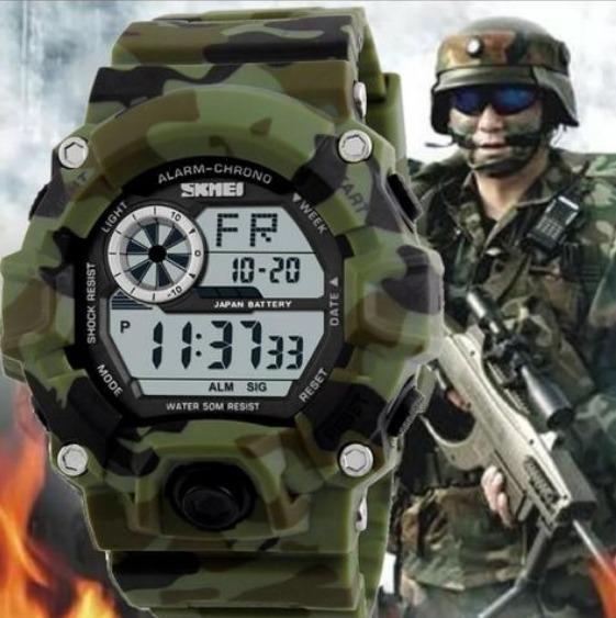 426cc74986c Relógio Skmei Militar Estilo G-shock Digital Prova D água - R  95