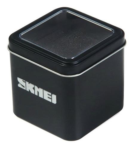 relogio skmei original 0992 resistente agua+caixinha (6pcs)